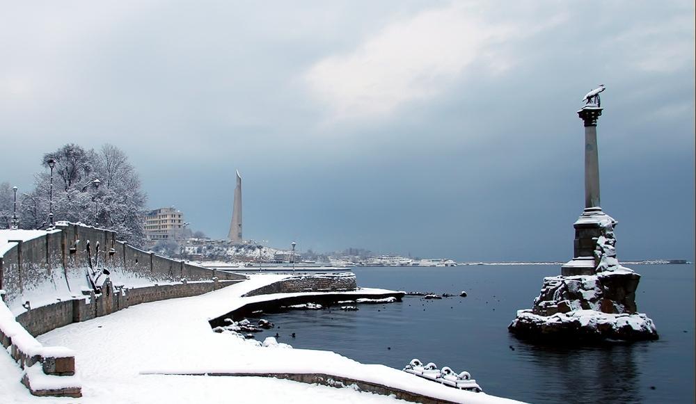 севастополь зимой фото книги